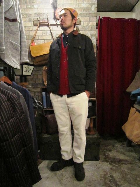 "ANACHRONORM \""Shetland Cardigan & Quilting Cardigan\"" ご紹介_f0191324_9251331.jpg"