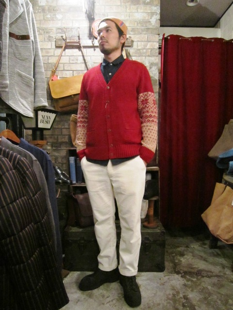 "ANACHRONORM \""Shetland Cardigan & Quilting Cardigan\"" ご紹介_f0191324_925164.jpg"