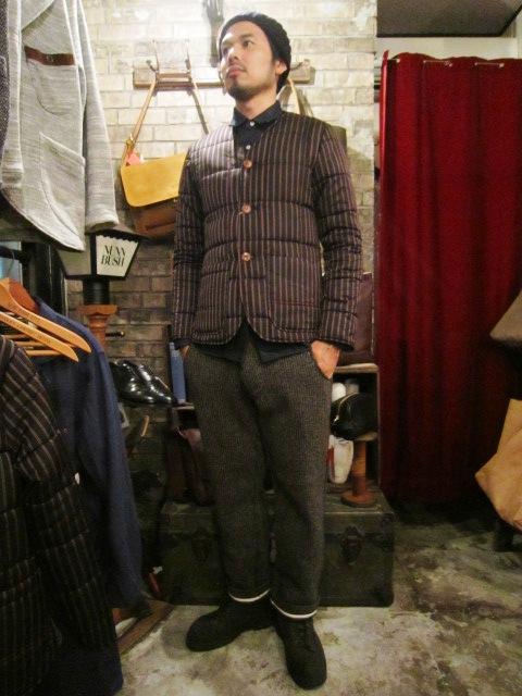 "ANACHRONORM \""Shetland Cardigan & Quilting Cardigan\"" ご紹介_f0191324_9263021.jpg"
