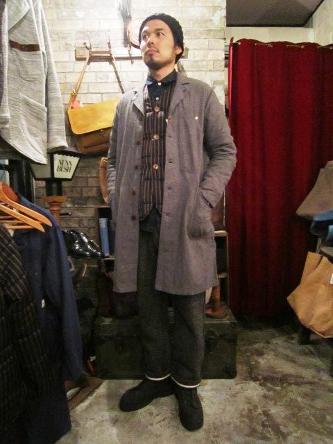 "ANACHRONORM \""Shetland Cardigan & Quilting Cardigan\"" ご紹介_f0191324_9264241.jpg"