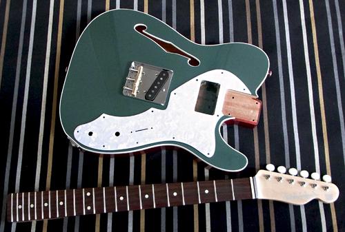 「Jade Green MetallicのHollow T-Line」の塗装が完了!_e0053731_17373466.jpg
