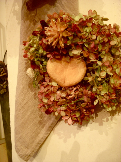 秋のリースレッスン。。。_a0229658_1753732.jpg