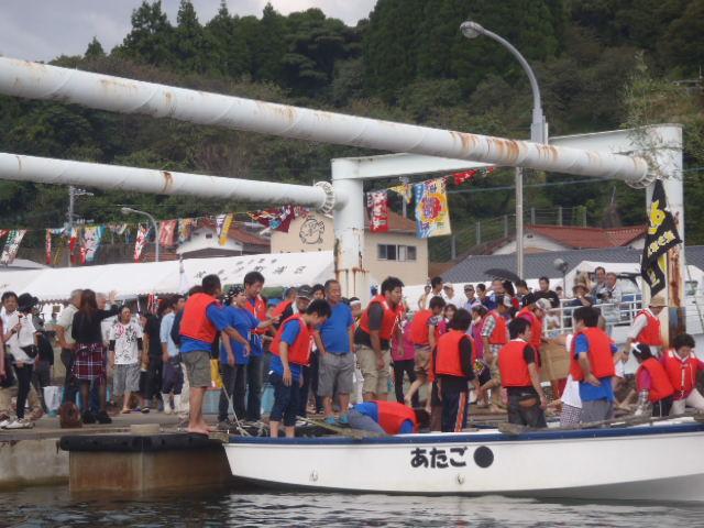 波多津港祭りの警戒とイベントの告知_a0077071_16354556.jpg