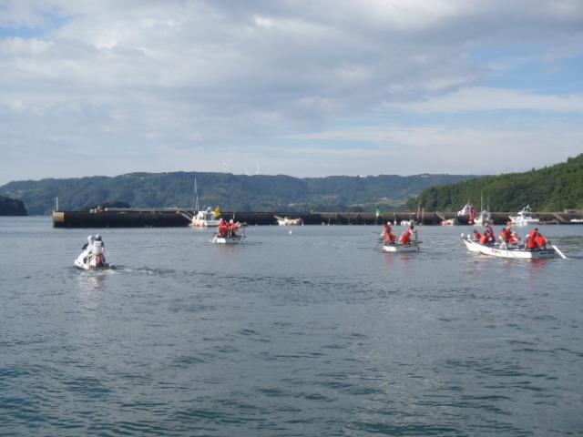 波多津港祭りの警戒とイベントの告知_a0077071_16402515.jpg