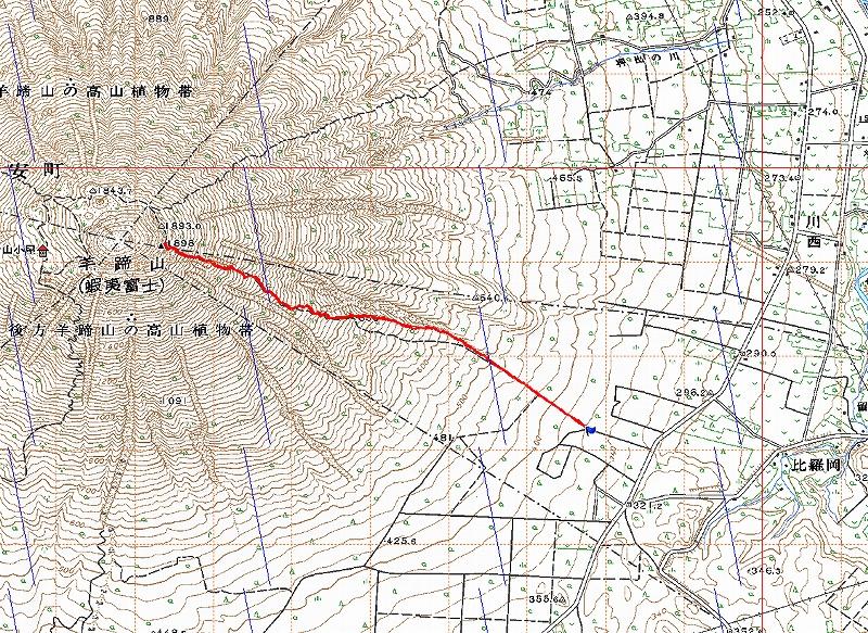 10月5日、羊蹄山を喜茂別コースから_f0138096_12102941.jpg