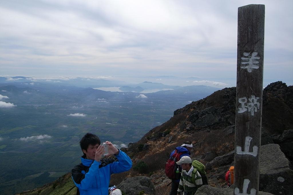10月5日、羊蹄山を喜茂別コースから_f0138096_1284477.jpg