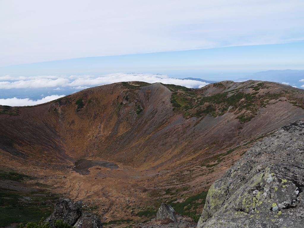 10月5日、羊蹄山を喜茂別コースから_f0138096_1285640.jpg
