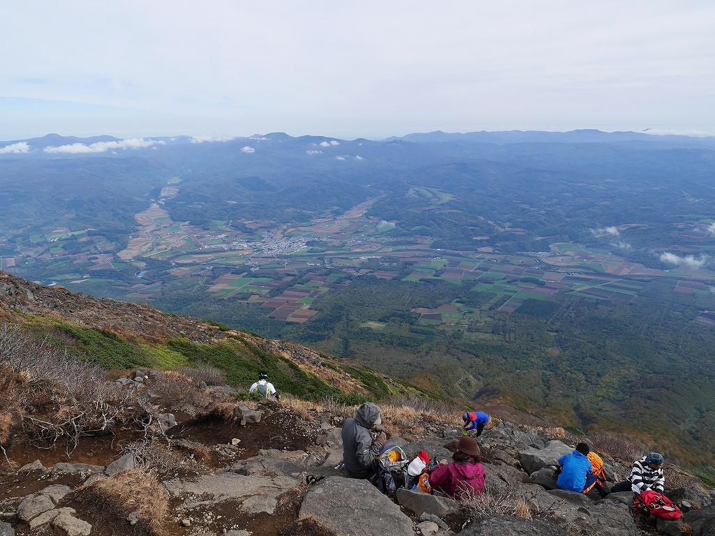 10月5日、羊蹄山を喜茂別コースから_f0138096_1292637.jpg
