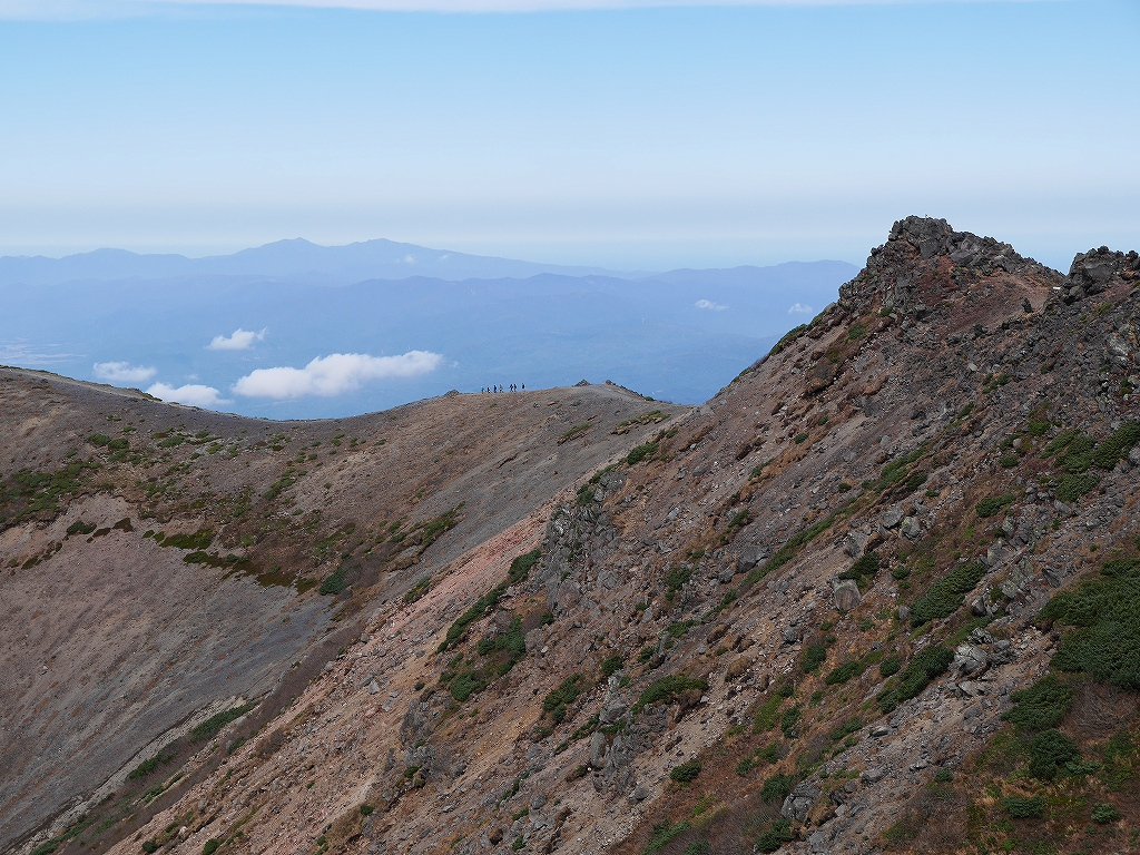 10月5日、羊蹄山を喜茂別コースから_f0138096_129658.jpg
