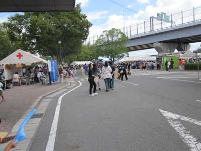 上郷交流館のお祭りに行ってきました_c0194003_94563.jpg