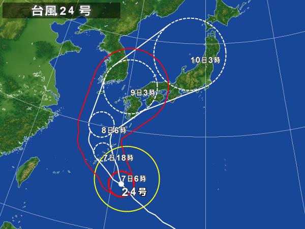 台風24号が接近_d0116009_722125.jpg