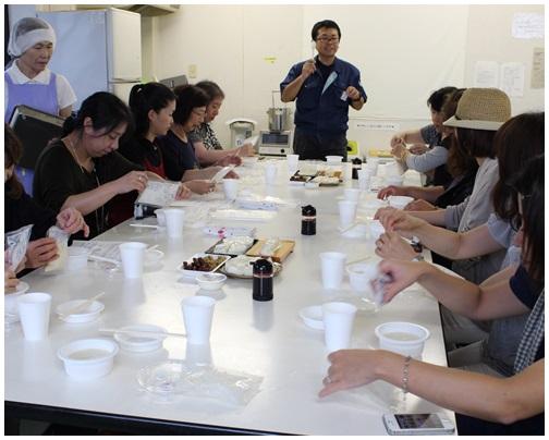 ワイナリーツアー 後半は豆腐工場見学!_c0141025_229171.jpg