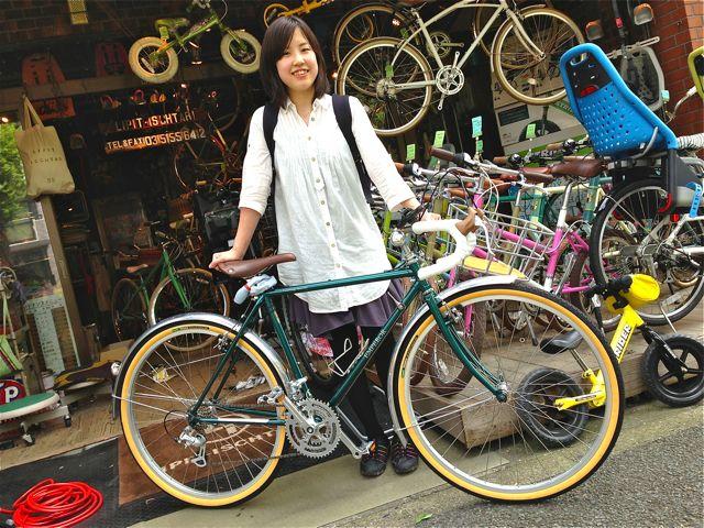 ☆今日のバイシクルガール 5本立て☆女子 おしゃれ 自転車_b0212032_2150610.jpg