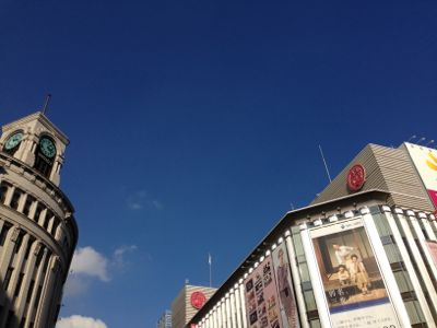A happy day in Ginza!_a0155167_1817412.jpg