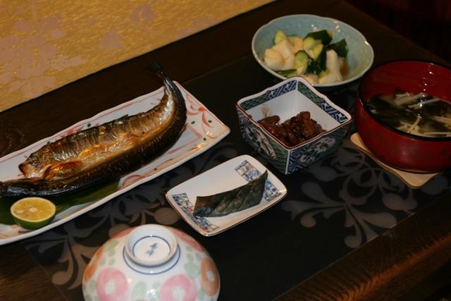 ★・・・秋刀魚の塩焼き _f0229190_1457369.jpg