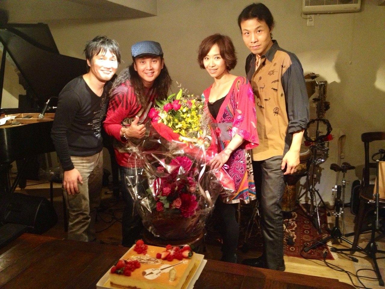 平松加奈 con Armada @大塚グレコ Birth day live!!_b0131865_1373941.jpg