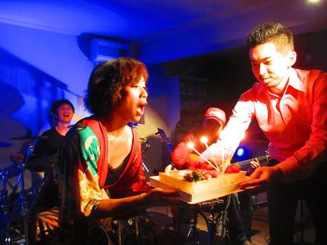 平松加奈 con Armada @大塚グレコ Birth day live!!_b0131865_1413527.jpg
