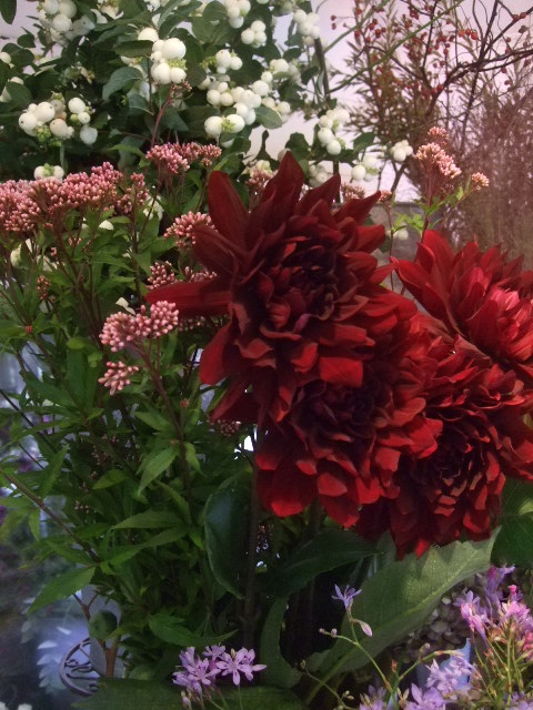 オークリーフ(ダリアの花束)_f0049672_11461131.jpg