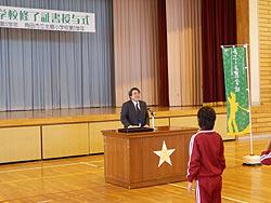 稲刈り体験(緑ヶ丘小・北郷小)_d0247484_20103529.jpg