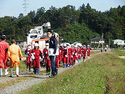 稲刈り体験(緑ヶ丘小・北郷小)_d0247484_2025043.jpg