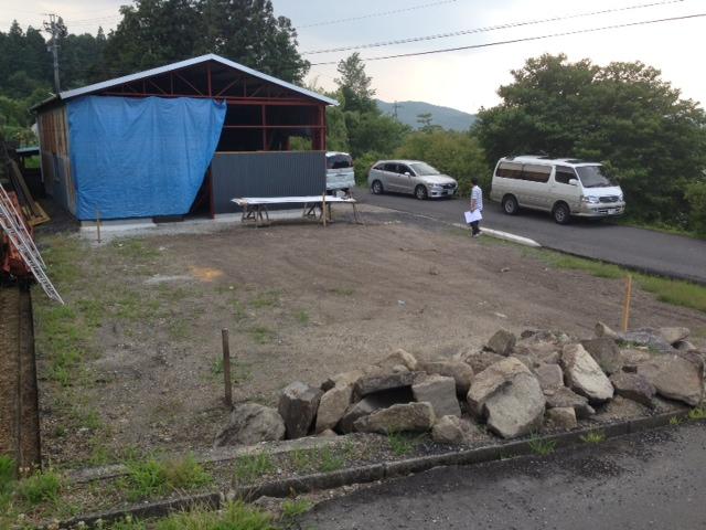 基礎工事始まりました、T邸_b0283089_2036272.jpg