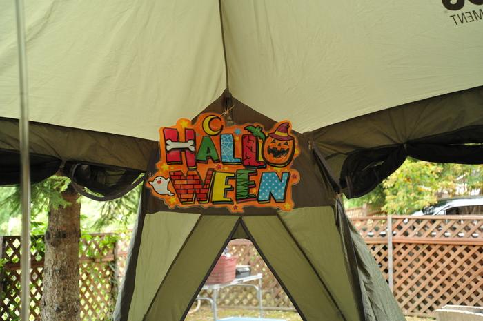 奥長良 ハロウィンキャンプ part1_a0049296_20333233.jpg