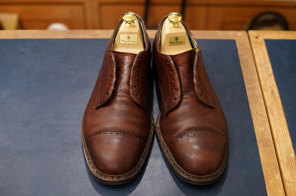 私物の茶靴をクリーニング_d0166598_20105764.jpg