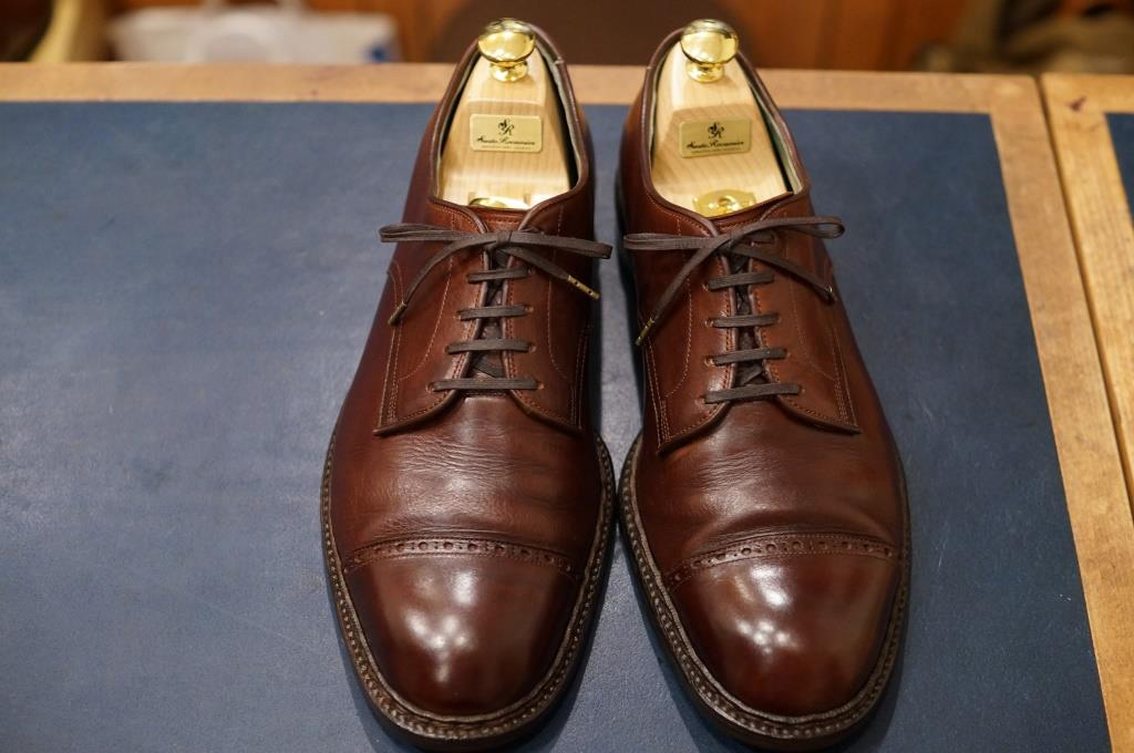 私物の茶靴をクリーニング_d0166598_20111428.jpg