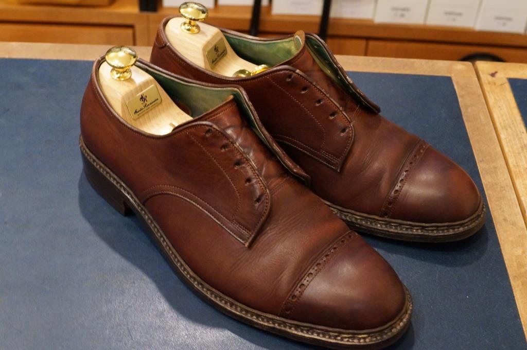 私物の茶靴をクリーニング_d0166598_2011534.jpg
