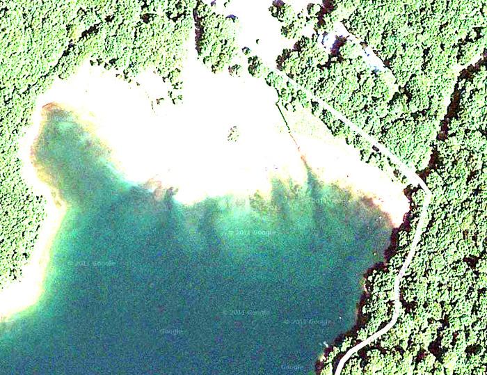 衛星写真を使った丸沼攻略_c0095801_9492847.jpg