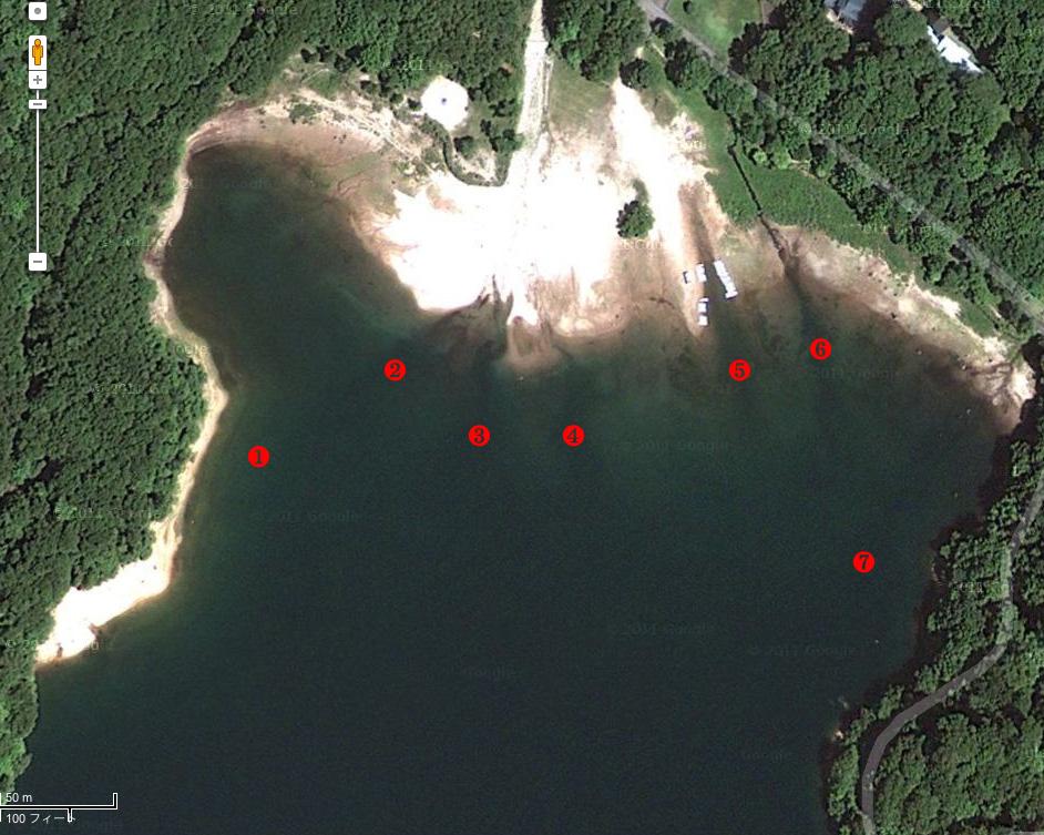 衛星写真を使った丸沼攻略_c0095801_9531244.jpg