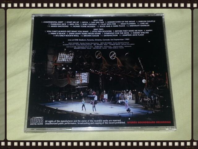 THE ROLLING STONES / TORONTO 1989 1ST NIGHT_b0042308_22203266.jpg