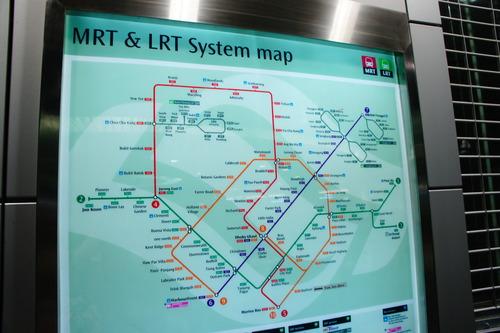 シンガポール旅行記 (MRTに乗ってみました!)_f0215714_16452365.jpg