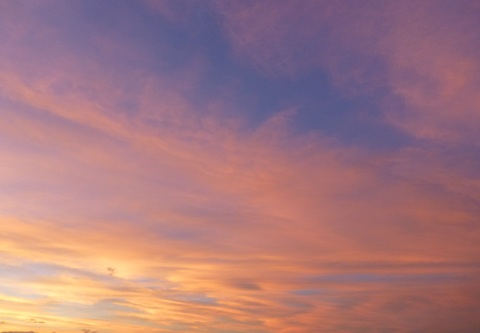 虹と夕焼け_e0237625_1313154.jpg