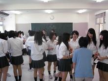 新潟県立新潟向陽高等学校にて、2種類4ワークショップを行いました。_c0167632_1355823.jpg
