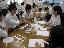 新潟県立新潟向陽高等学校にて、2種類4ワークショップを行いました。_c0167632_138086.jpg