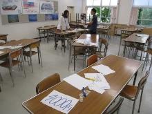 新潟県立新潟向陽高等学校にて、2種類4ワークショップを行いました。_c0167632_1382812.jpg