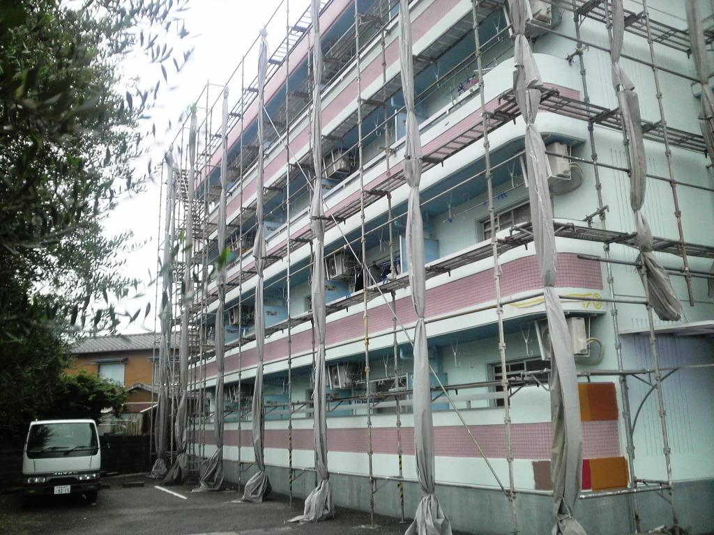 台風養生 Lマンション_c0209036_8284465.jpg