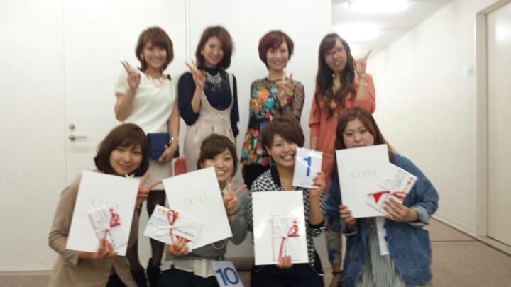 ☆COTA stylist award2013☆_f0222146_10261543.jpg