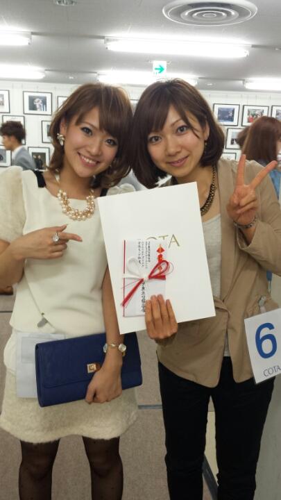 ☆COTA stylist award2013☆_f0222146_10261578.jpg