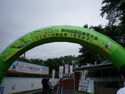 東京国体・成年女子ソフトボール決勝を観戦。_c0017651_724330.jpg