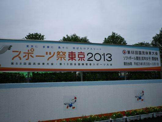 東京国体・成年女子ソフトボール決勝を観戦。_c0017651_7261063.jpg
