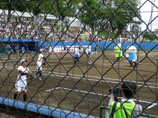 東京国体・成年女子ソフトボール決勝を観戦。_c0017651_729585.jpg