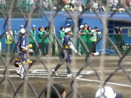 東京国体・成年女子ソフトボール決勝を観戦。_c0017651_736235.jpg