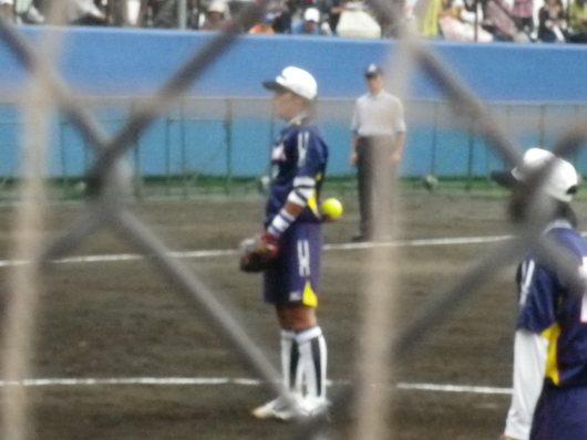 東京国体・成年女子ソフトボール決勝を観戦。_c0017651_742405.jpg