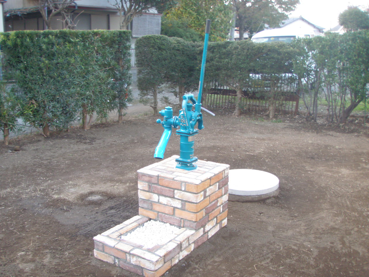 井戸を活かしたお庭づくり_b0170161_15124768.jpg