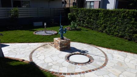 井戸を活かしたお庭づくり_b0170161_156712.jpg