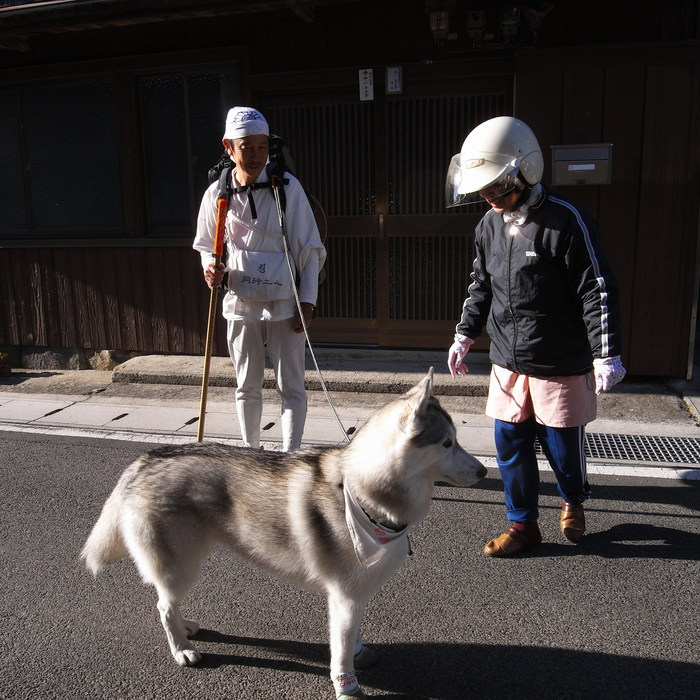 Memory of the second pilgrimage with husky HANA_c0049299_12192156.jpg