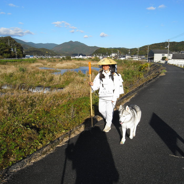 Memory of the second pilgrimage with husky HANA_c0049299_12213753.jpg