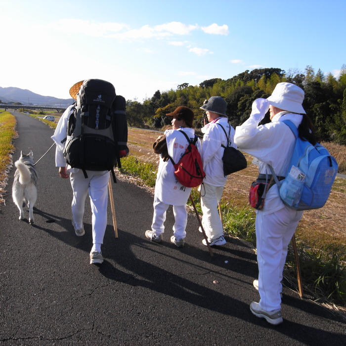 Memory of the second pilgrimage with husky HANA_c0049299_12223044.jpg
